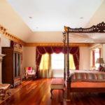 двуспальные кровати из массива дерева дизайн