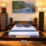 двуспальные кровати из массива дерева дизайн фото