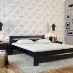 двуспальные кровати из массива дерева фото дизайна