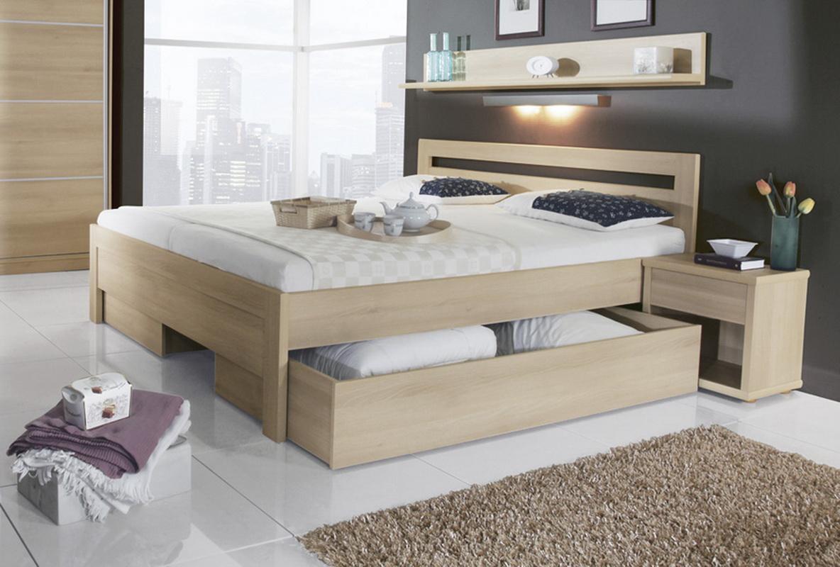 двуспальные кровати с ящиками фото дизайна