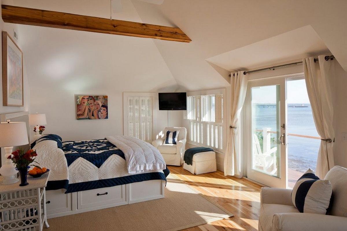 двуспальные кровати с ящиками фото