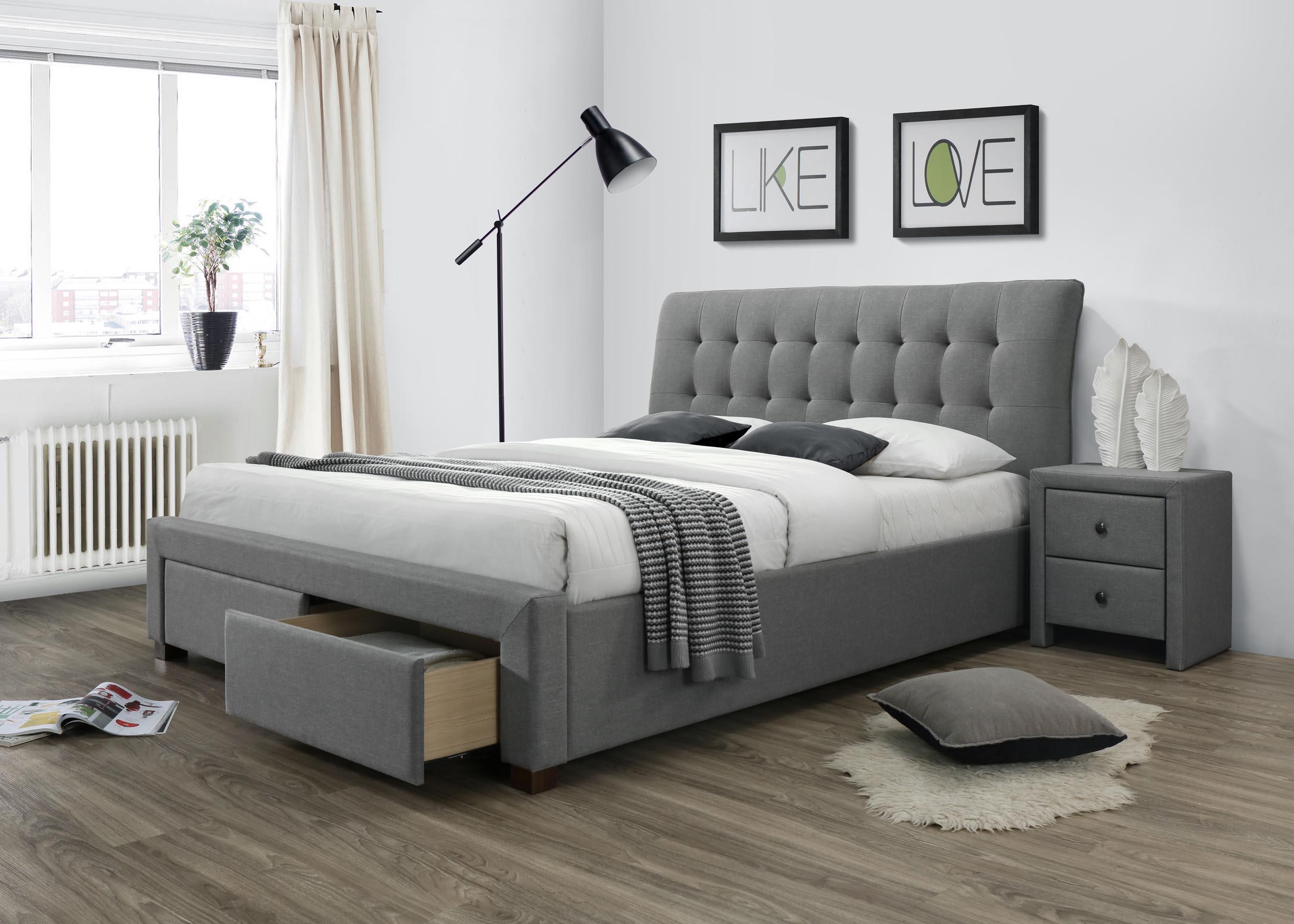 двуспальные кровати с ящиками идеи оформления