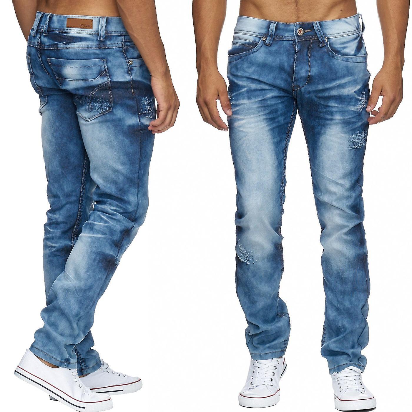 эффект складок на джинсах