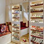 пример гардеробной для обуви