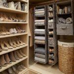 обувь в отдельной гардеробной
