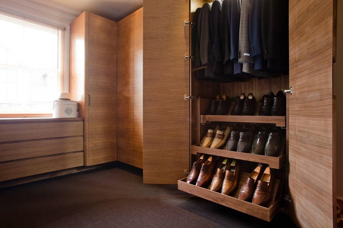 пространство для обуви
