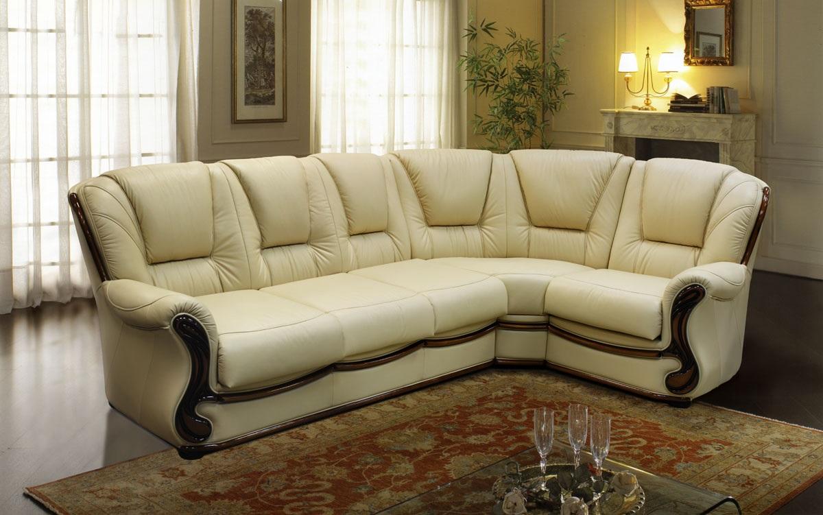 обивка дивана натуральной кожей
