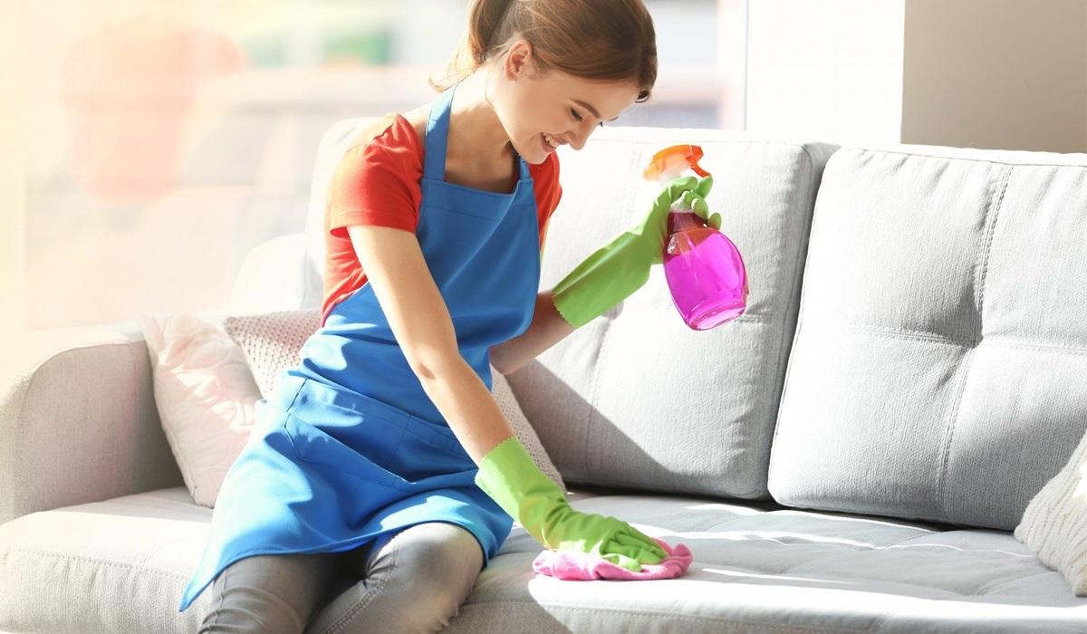как почистить мягкую мебель от запаха