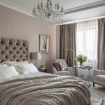 кровать светло коричневая