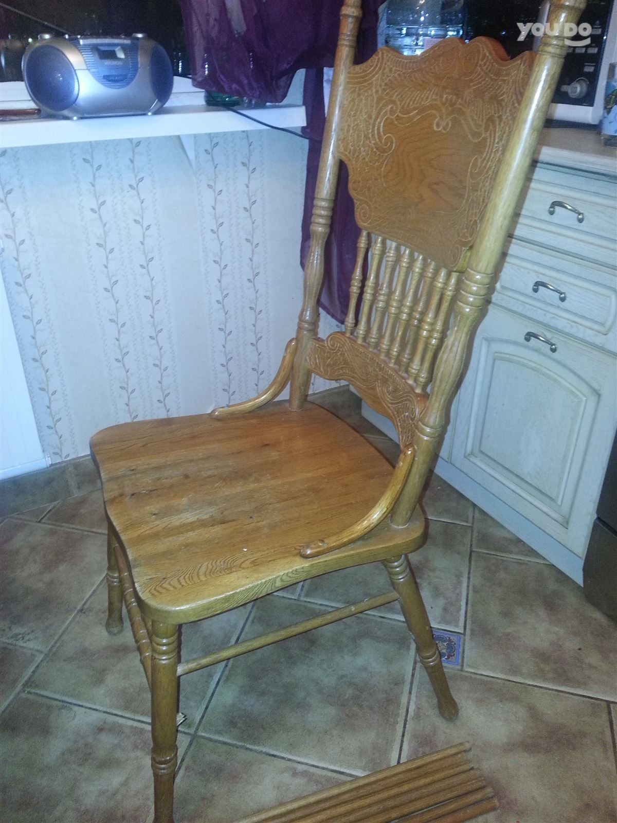 стул после ремонта