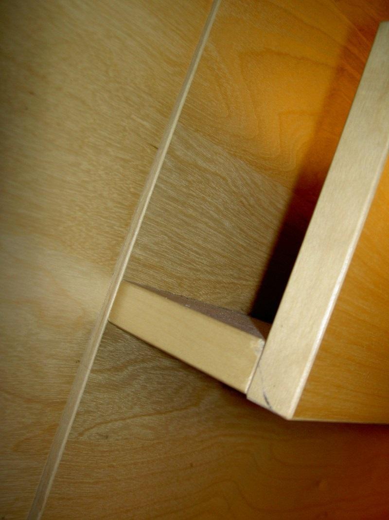 поэтапная склейка стула