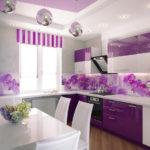 как выбрать цвет кухни декор