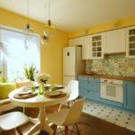 как выбрать цвет кухни фото оформление