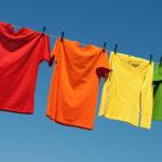 как высушить одежду на веревке