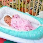 кокон для новорожденного оформление