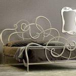 кованая кровать идеи дизайна