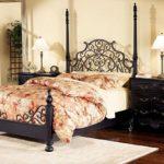 кованая кровать декор фото