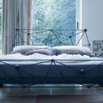 кованая кровать декор идеи