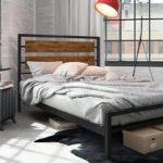 кованая кровать оформление фото