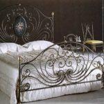 кованая кровать фото оформление
