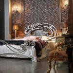 кованая кровать виды оформления