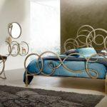 кованая кровать дизайн фото