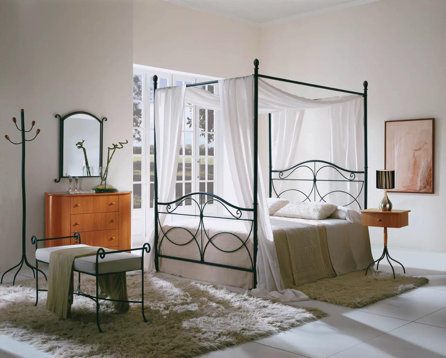 кованые кровати дизайн фото