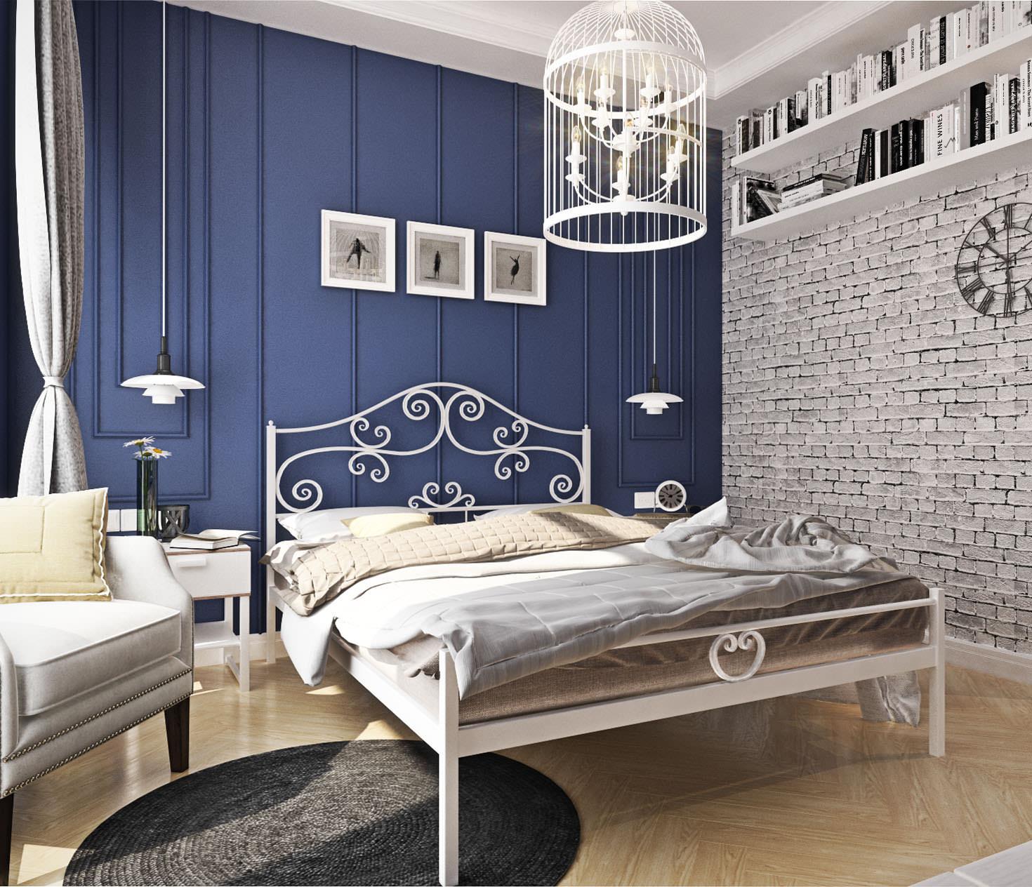 кованые кровати дизайн идеи