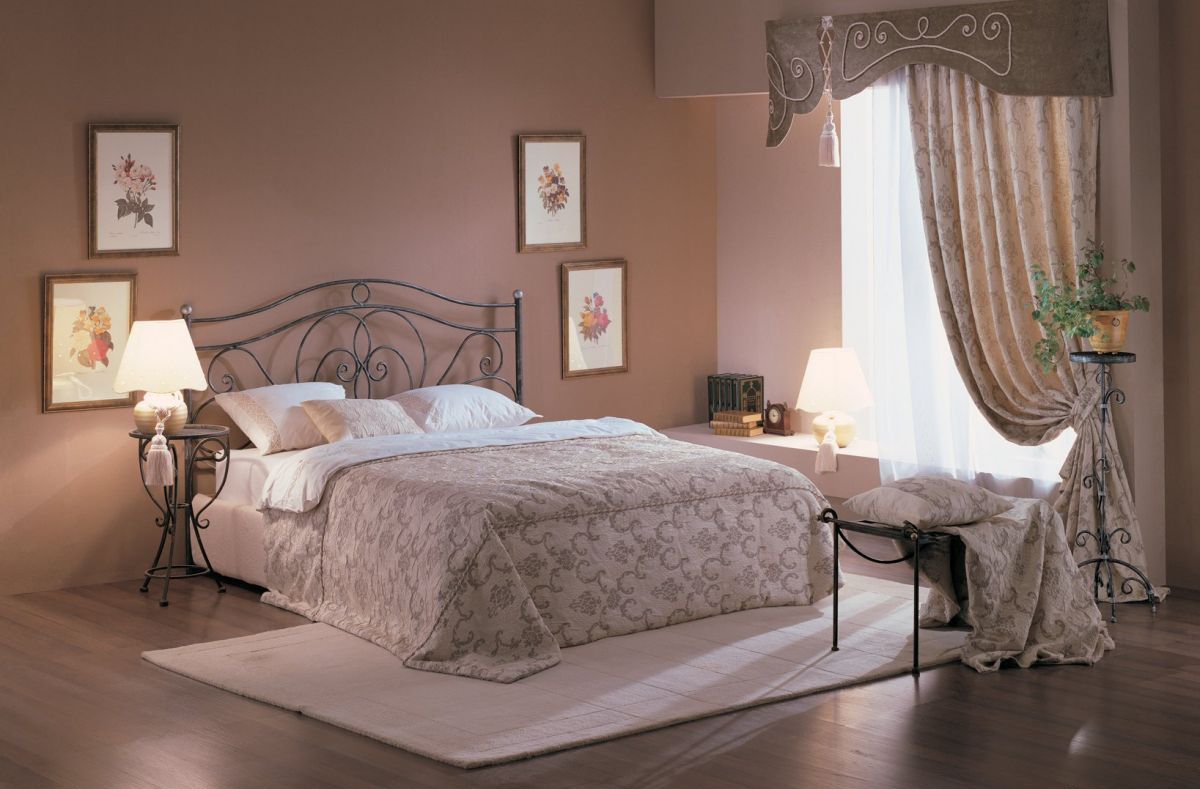 кованые кровати дизайн