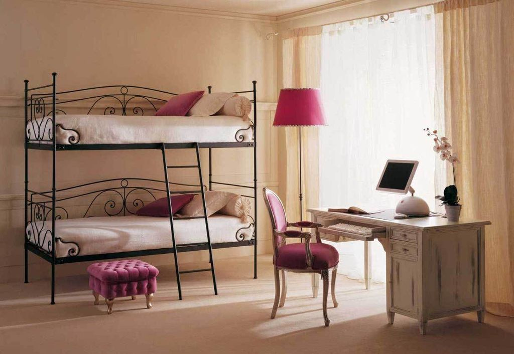 кованые кровати двухъярусные