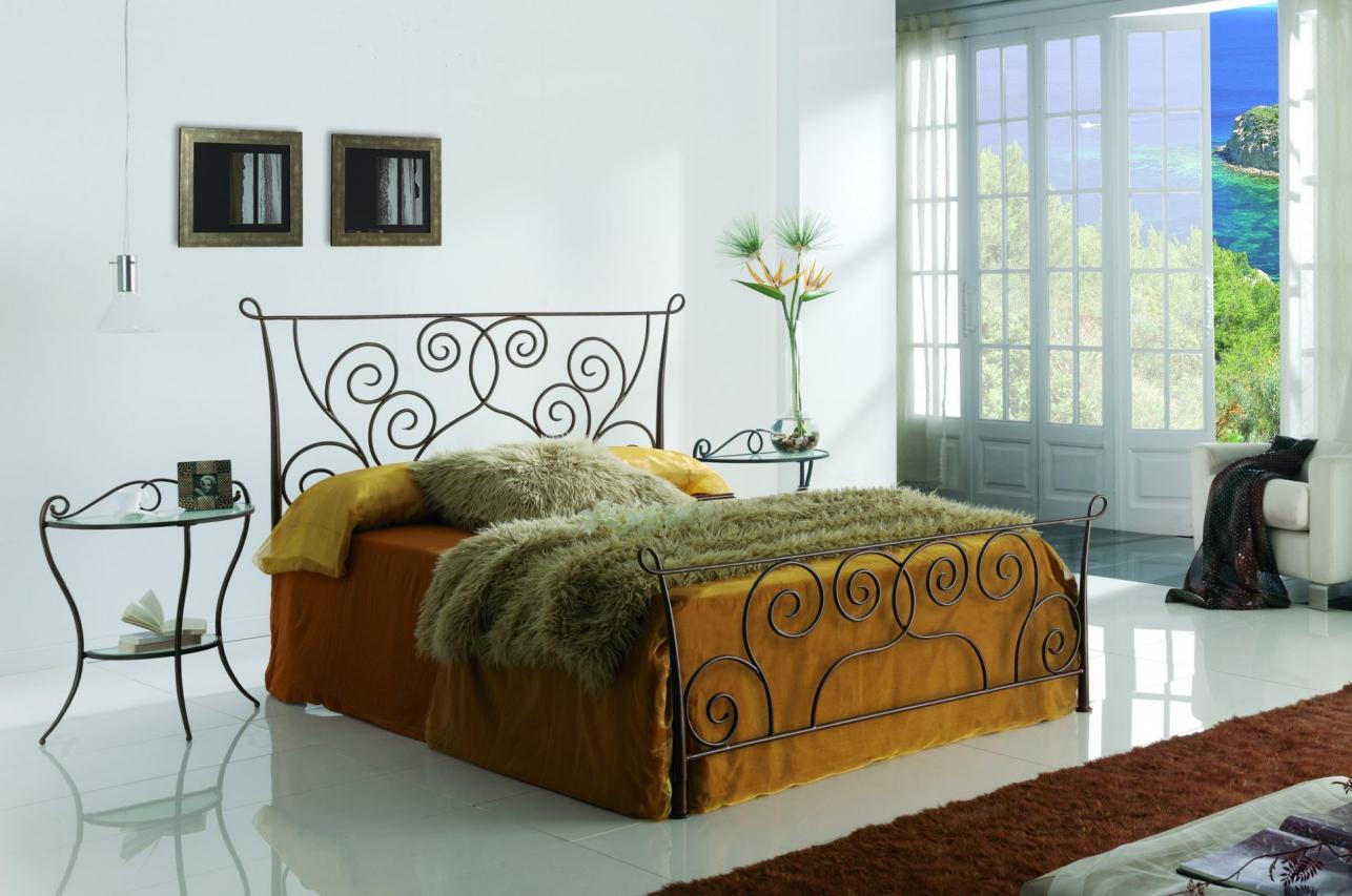 кованые кровати идеи дизайн