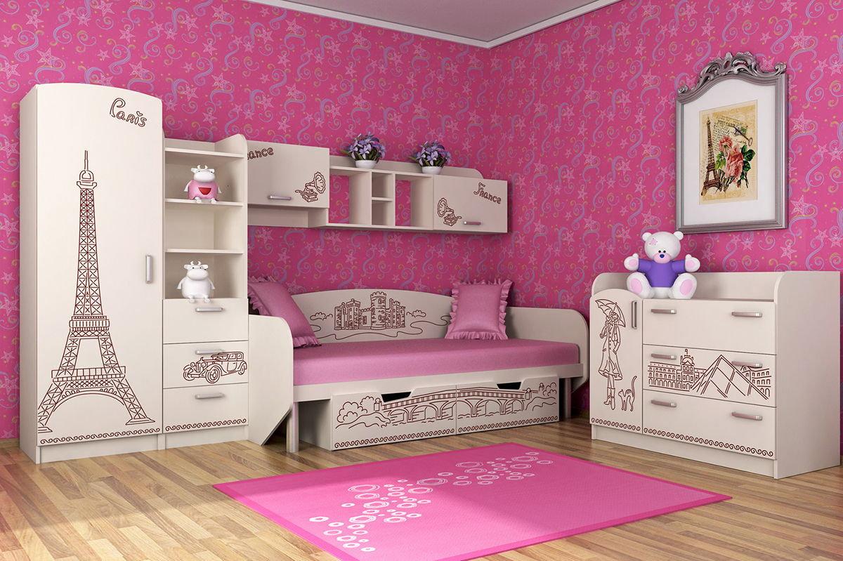 различные кровати для девочек