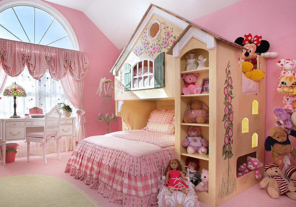 вариант кровати для девочки