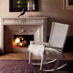 кресло качалка виды декора