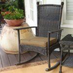 кресло качалка варианты декора