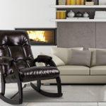 кресло качалка дизайн фото