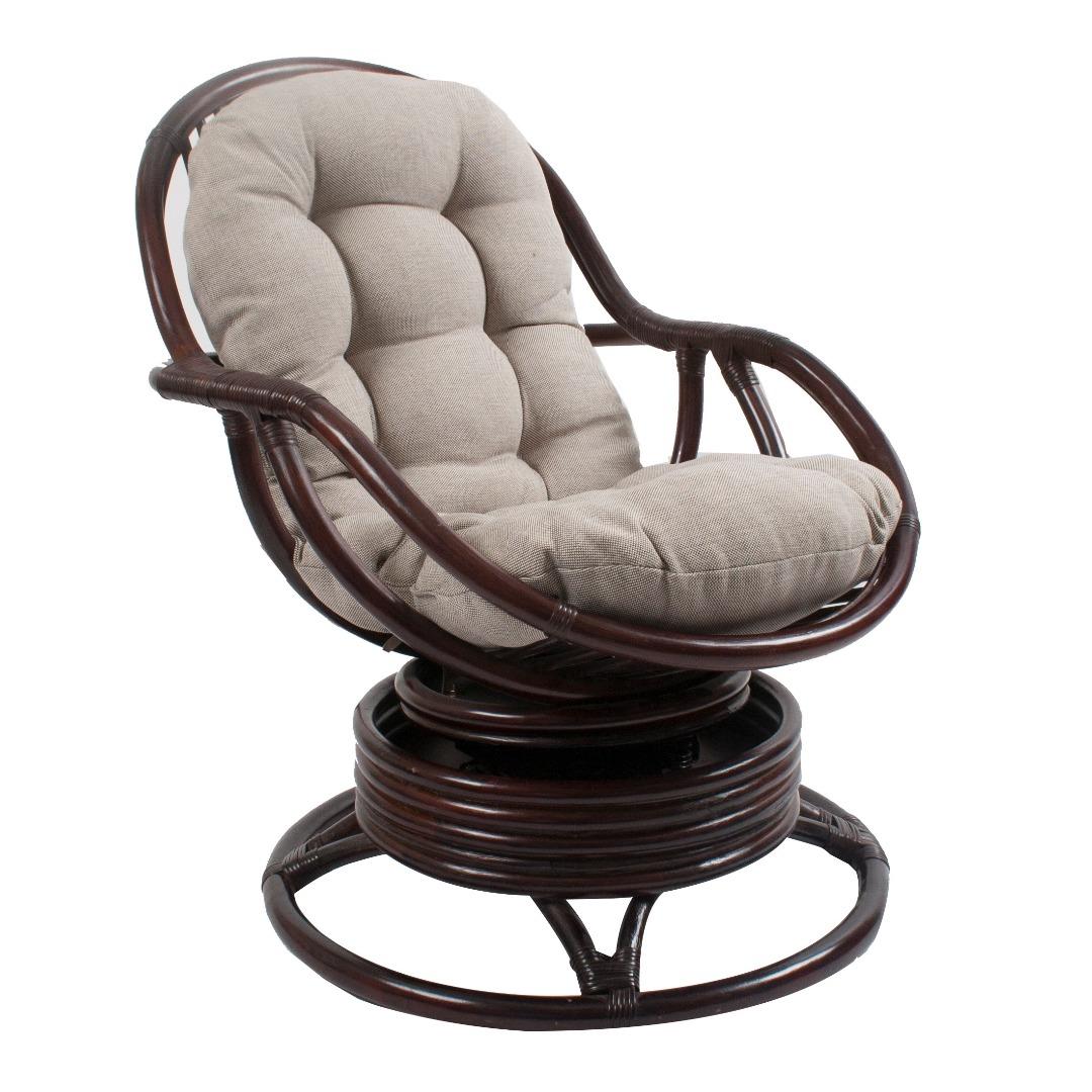 кресло качалка с пружиной