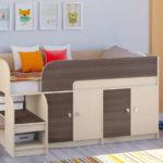 кровать-чердак для малышки