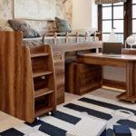 кровать-чердак деревянный