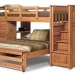 кровать-чердак деревянная