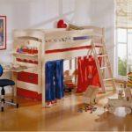 кровать чердак в детской фото
