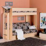кровать чердак в детской идеи дизайна