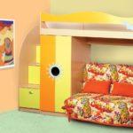 кровать чердак в детской декор
