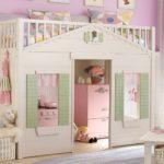 кровать чердак в детской оформление