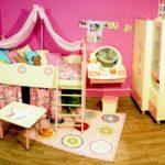 кровать чердак в детской оформление идеи