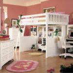 кровать чердак в детской фото интерьер