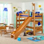 кровать чердак в детской варианты