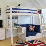 кровать чердак в детской варианты идеи