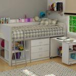 кровать чердак в детской виды идеи