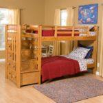 кровать-чердак в комнате